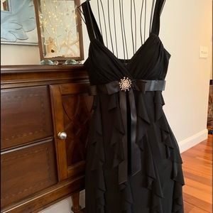 Black Cocktail Dress- Betsy & Adam